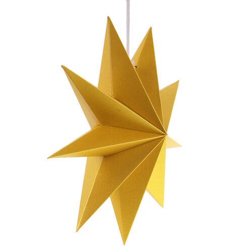 Papiersterne 30cm Weihnachtsdeko Deko-stern Durchmesser Party-Deko