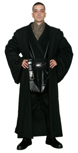 Star Wars Anakin Skywalker Costume and Robe in Black Film Set Quality from UK