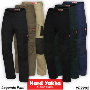 2 x Hard Yakka Legends Work Pant ALL SIZES & COLOURS ...