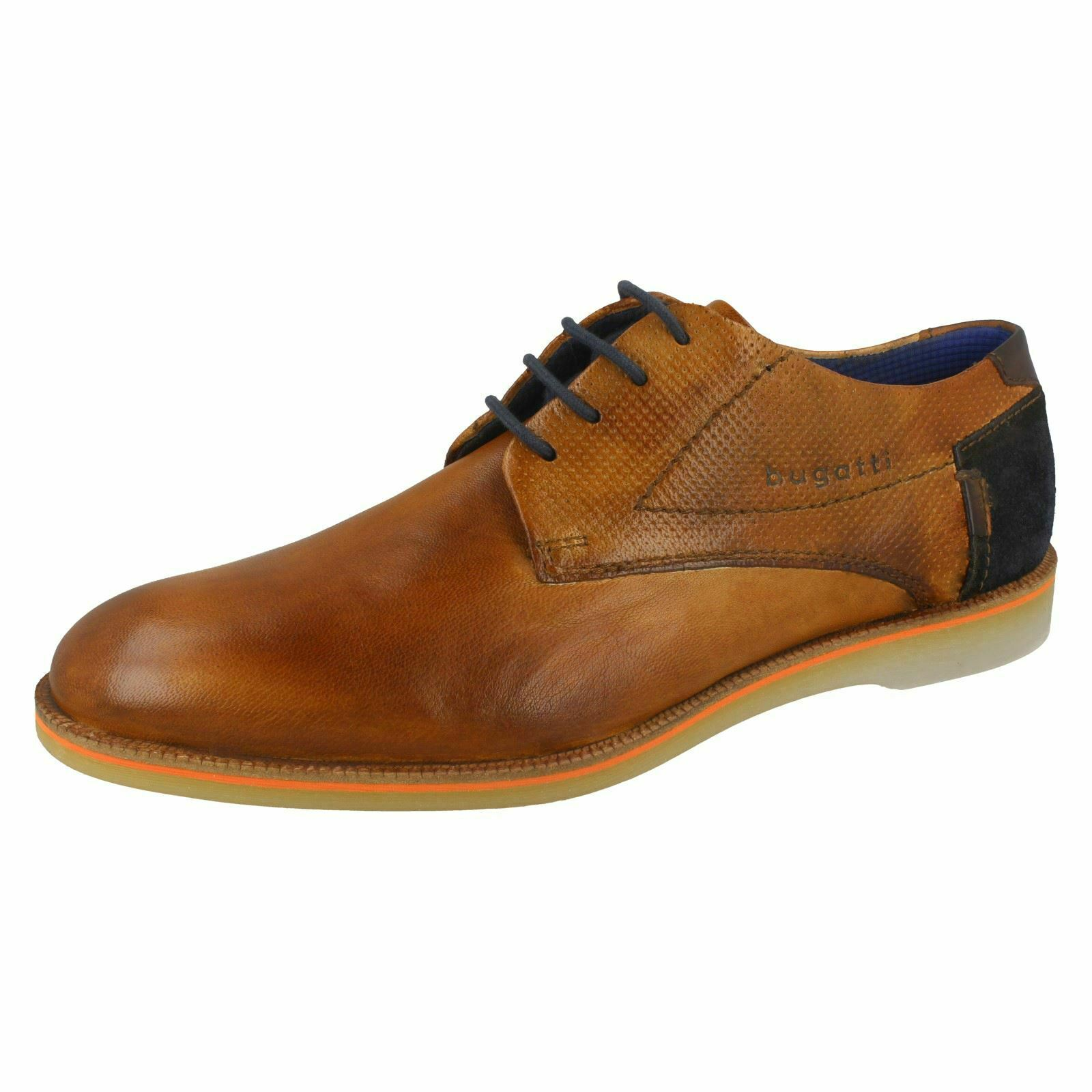 Mens Bugatti Stylish Lace Up shoes 312-64702-4100