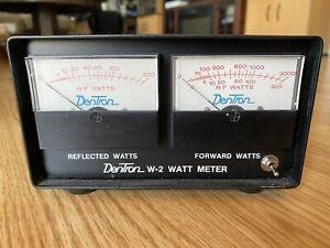 Dentron W-2 любительское радио 200/2000W мощность Ватт метр