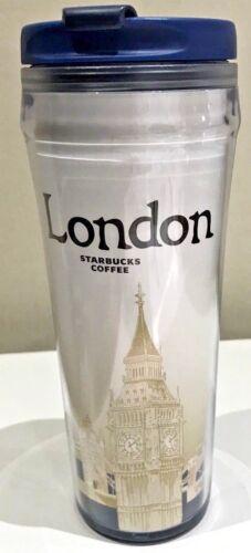 Starbucks City Tumbler Thermobecher London England 12oz NEU GRATIS Geschenk