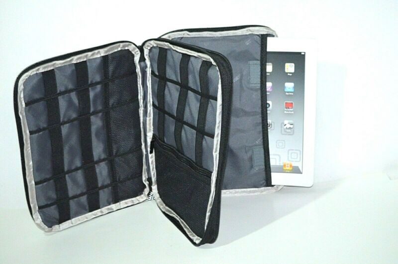 BUBM iPad iPod Tablet Storage Bag HDD/SSD Electronic Accessories Organizer Case