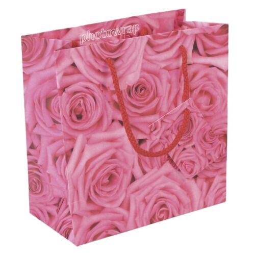 Pink Roses Medium Gift Bag