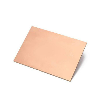 10PCS 70x100x1.5mm One-Side Copper Clad Single Circuit Kit PCB Board Glass Fiber