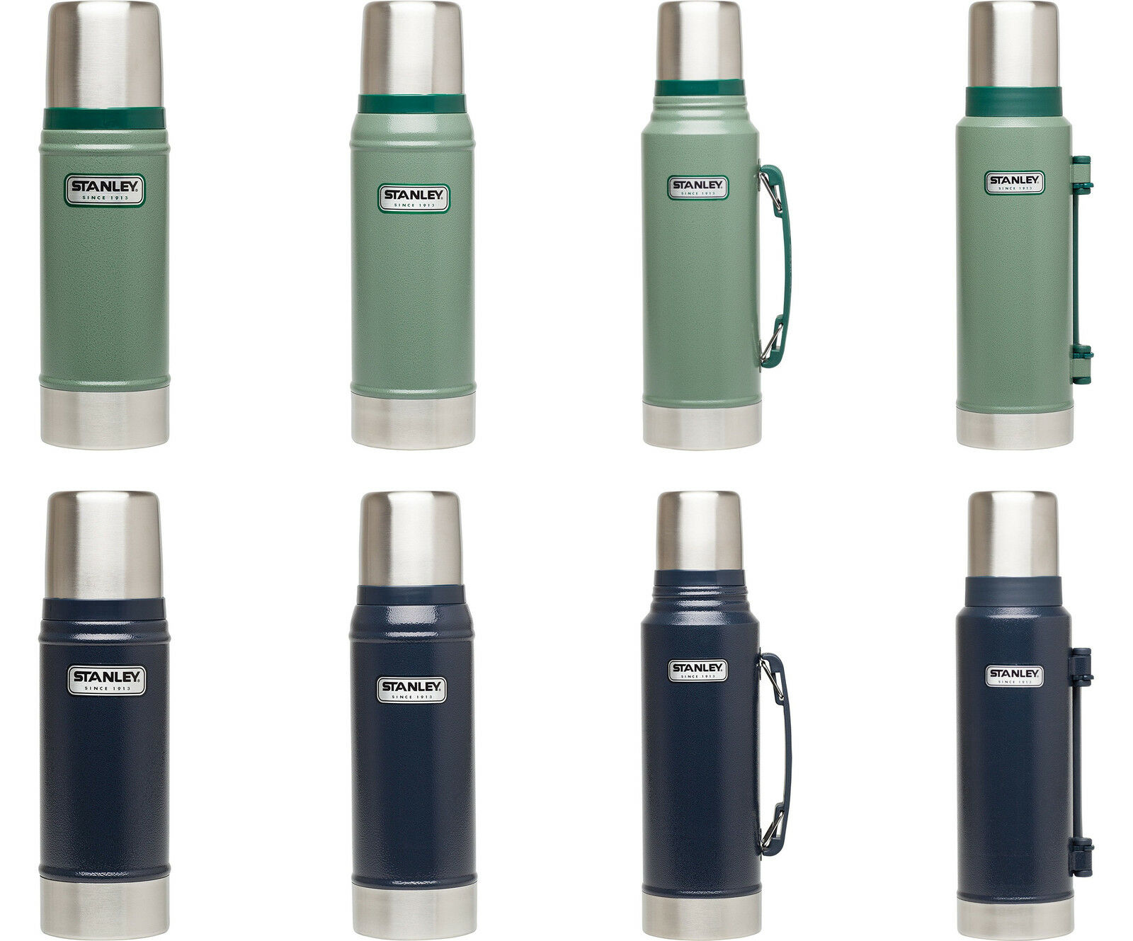 Stanley Classic Vacuum Bottle, 5 Sizes, 2 colors