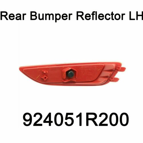 Genuine Rear Bumper Reflector Left LH Oem 924051R200 For Hyundai Accent 11-16