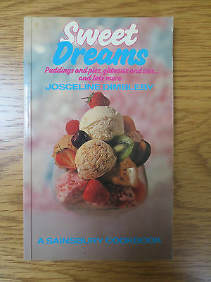 Vintage Cook Book SWEET DREAMS Puddings Desserts Sainsbury Recipes J  Dimbleby