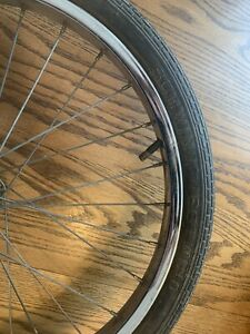 Schwinn Stingray S7 Front Rim And Tire Original Early