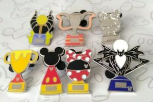 Trophies-2019-Trophy-Hidden-Mickey-Set-DLR-Wave-B-Choose-a-Disney-Pin