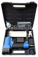 Brand Air Nailer Gun 2 & 1-5/8 18 Gauge Brad Nails & Staples Tool Gun 2in1