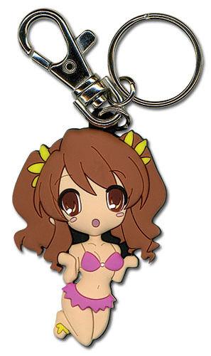 **License** Haruhi Suzumiya PVC Keychain SD Miruku #3968