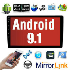 2G RAM+32G ROM Android 9.1 10.1 Inch Touch Screen 2Din Car Multimedia Radio GPS Navigation in-Dash Car Stereo MP5 Player Autoradio with WiFi Bluetooth USB OBD