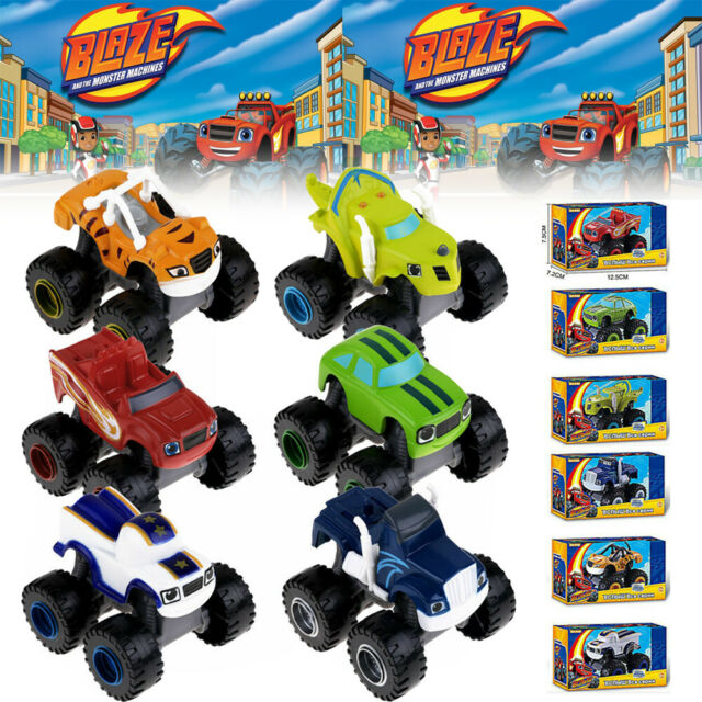 Blaze and the Monsters Vehicles Plastic Racer Car Truck ...