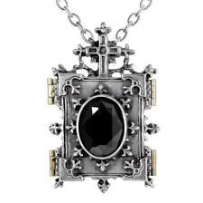 ALCHEMY ORTHODOX ICON LOCKET PEWTER BLACK GOTHIC PENDANT NECKLACE FREE GIFT BOX
