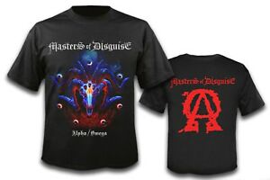 MASTERS-OF-DISGUISE-Alpha-Omega-T-Shirt-size-L-US-Speed-Metal