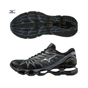a628d41d12 Mizuno Wave Prophecy 7 Black Gray Men Mens Running Shoes New ...
