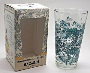 2-X-BACARDI-RUM-ANEJO-CUATRO-GLASSES-BRAND-NEW-PUB-BAR-PARTY