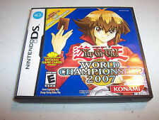 Yu-Gi-Oh! World Championship 2007 (Nintendo DS) Lite DSi XL w/Case (No Manual)