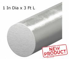 Solid Aluminum Round Rod 1 Inch X 36 Bar Stock Alloy 6061 Unpolished Finish New