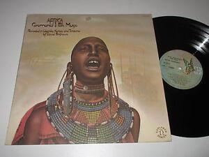 LP/DAVID FANSHAWE/AFRICA/CEREMONIAL FOLK MUSIC/Elektra H-72063