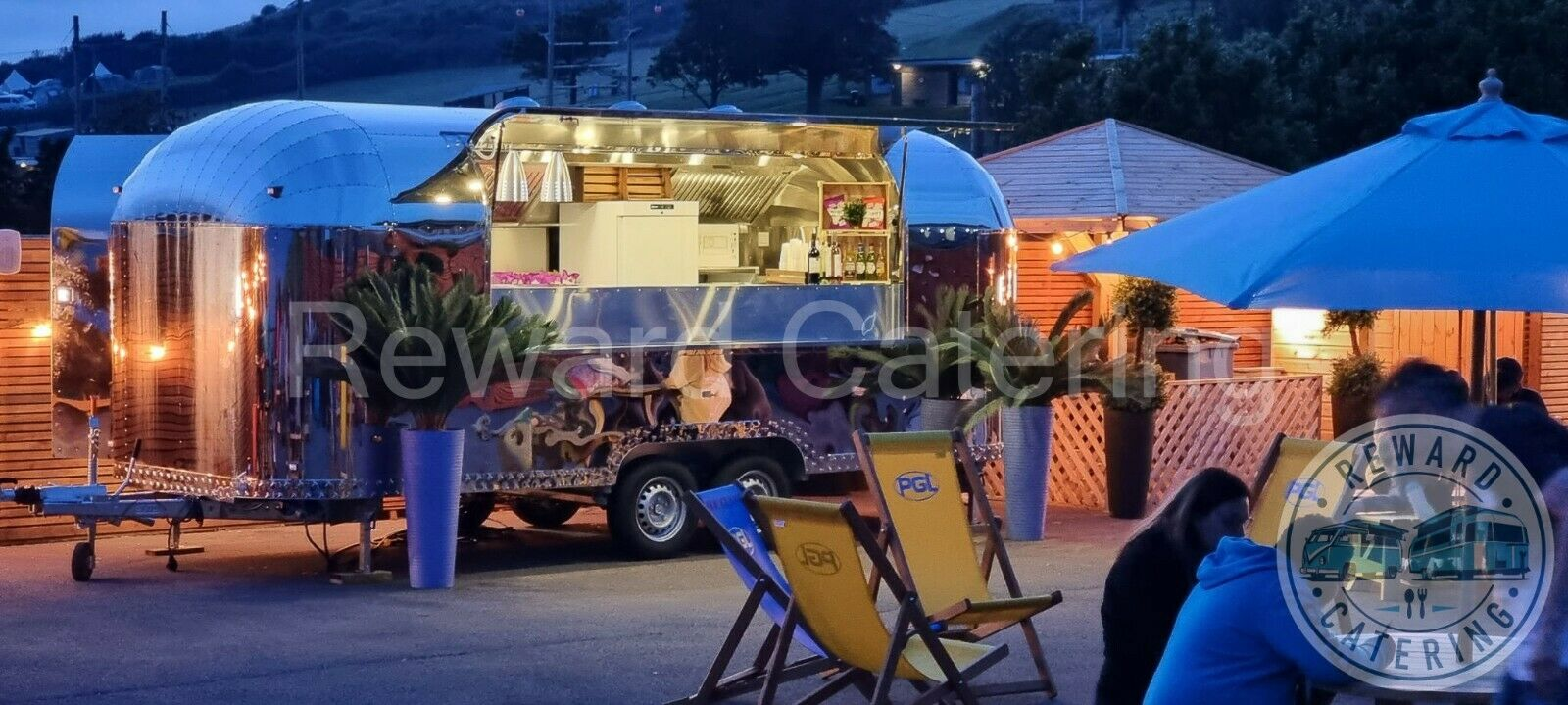 2021 Airstream Catering trailer Burgers, Coffees ,Gin Prosecco Pizza