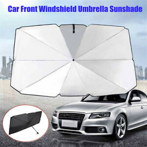 Durable Cars Sunshade Front Window Windshield Sun Shade for Auto Trucks Cars Heat Insulation Sunscreen Umbrella Vehicle QOONESTL Car Windshield Sun Shade