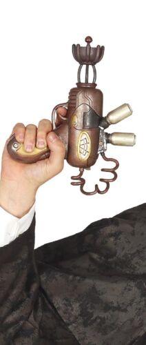 Toy Gun Steampunk Western Pistol Inventor Fancy Dress Weapon Accessory Prop