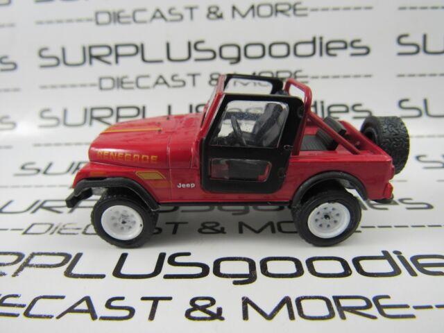 Greenlight 1:64 LOOSE Collectible Classic 1983 JEEP CJ-7 RENEGADE Diorama Car