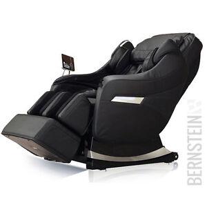 BERNSTEIN-Massagesessel-3D-Dreamline-professionell-schwarz-creme-braun-Shiatsu