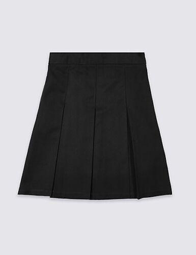 M /& S école jupe noir 10 ans neuf avec étiquettes