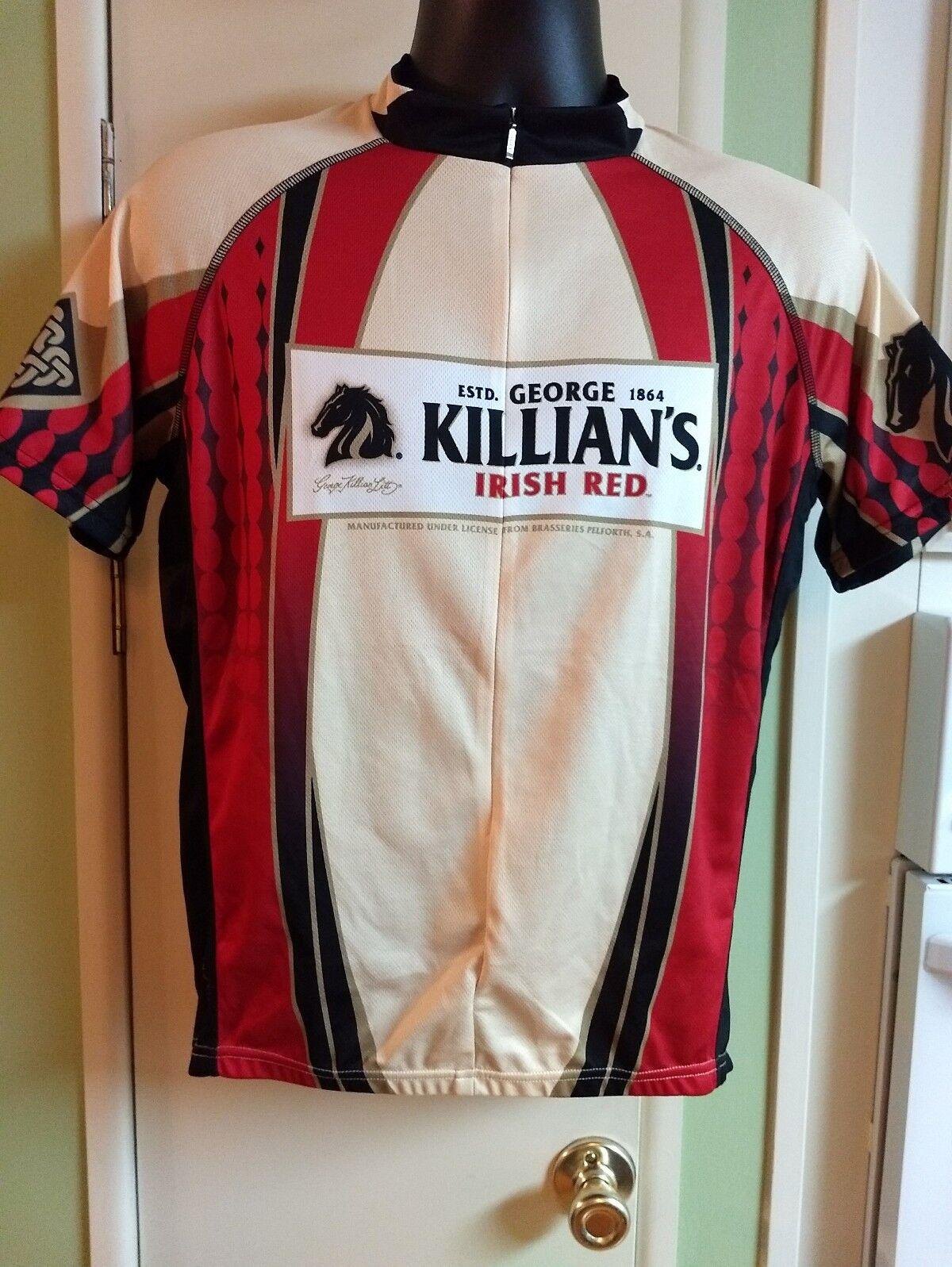 Primal Wear Killian's Irish Red Lager Cycling Jersey  Biking Short Sleeve Shirt  affordable