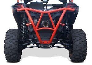 Dragonfire Racing Red RacePace EXO Front Bumper Guard Can-Am Maverick X3