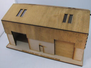 Trackside-Models-HO-Scale-Laser-Cut-034-Tony-039-s-Industrial-Shed-034-SM1047