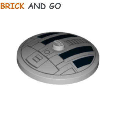 Grey, Grey Dish 4x4 Star Wars Tie New New 1 x lego 38373 Disc Radar