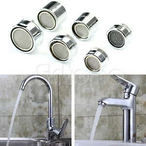 Kitchen-Faucet-Tap-Water-Saving-Male-Female-Aerator-Chrome-Nozzle-Sprayer-Filter