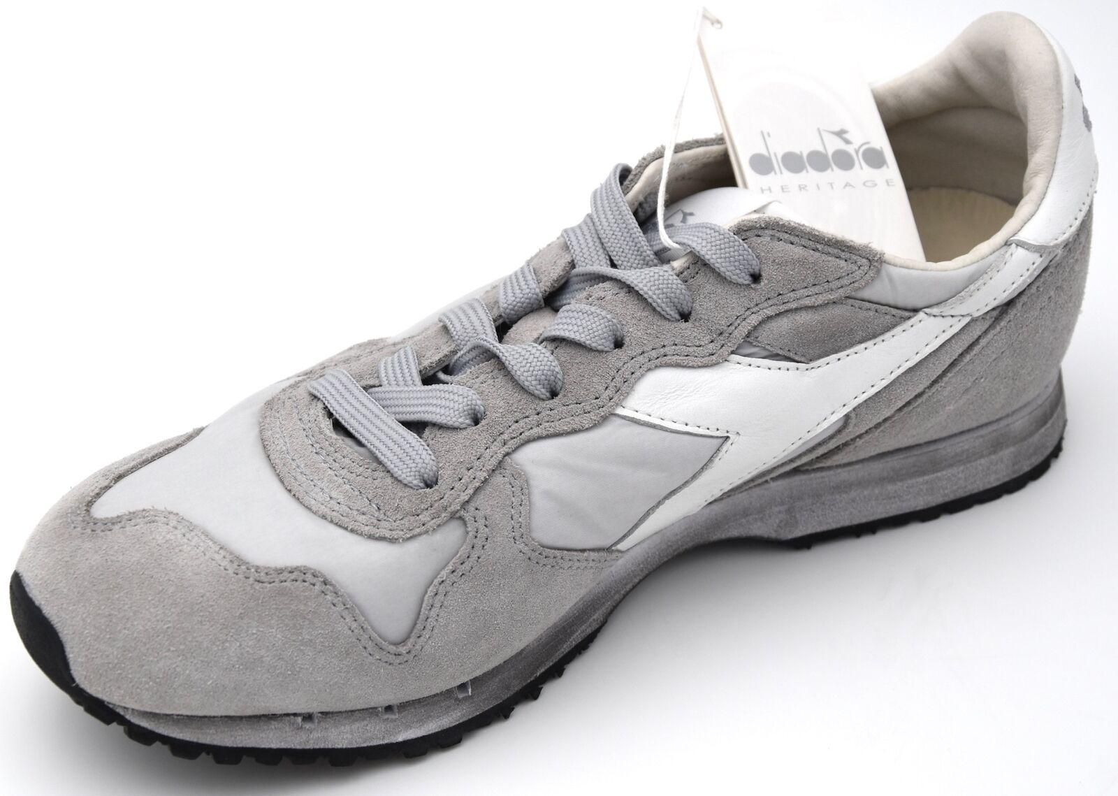 DIADORA UOMO SCARPA scarpe scarpe scarpe da ginnastica CASUAL TEMPO LIBERO 201.157083 01 TRIDENT NY S.W | Superficie facile da pulire  28a8ba