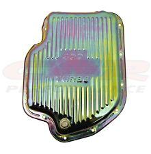 ZINC CHEVY/GM TURBO TH-400 STEEL TRANSMISSION PAN (DEEP SUMP)
