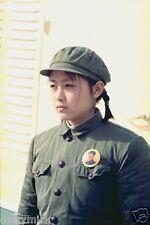 Chinese Girl Soldier Peking China 1944 Communism Woman 7x5 Inch Reprint Photo