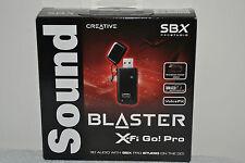Creative Sound Blaster X-Fi Go Pro USB Audio System 70SB129000000 Sound Card New