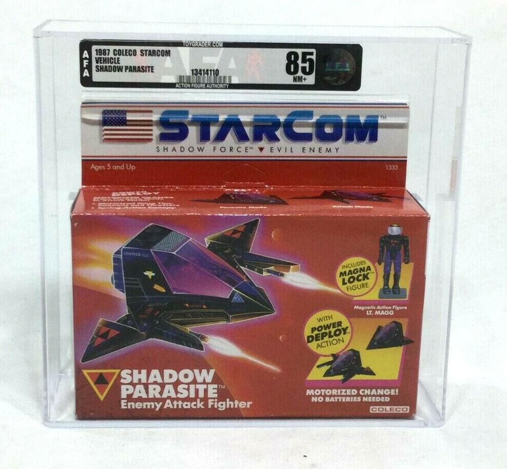 1987 Vintage Coleco Estrellacom sombra parásito Menta en caja sellada en caja sellada autoridad Figura de Acción 85 Envío Gratuito