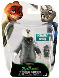 NEW-TOMY-DISNEY-ZOOTOPIA-MR-BIG-AND-KEVIN-2-PACK-FIGURE-70003