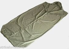 NEW Olive Green Cotton Army Issue Sleeping Bag Liner