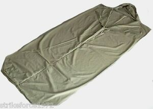 NEW-Olive-Green-Cotton-Army-Issue-Sleeping-Bag-Liner