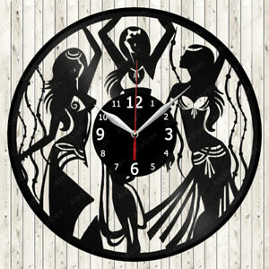 Belly-Dance-vinyl-record-Horloge-murale-decor-fait-main-1429