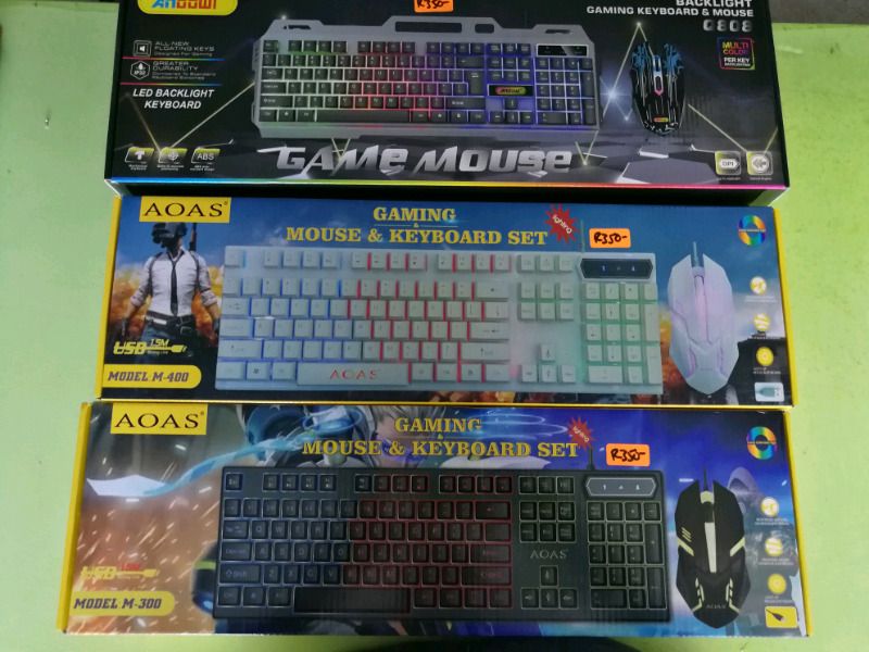 Gaming Keyboards and Mouse Combos