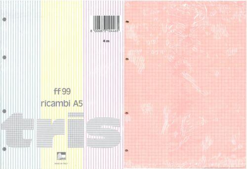 Pigna Ricambio Colorato Tris A5 4mm