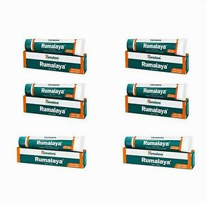 Rumalaya-Gel-30g-Himalaya-Herbals-Lot-of-6-Tubes-Thirty-Gram-Pack-Free-Ship