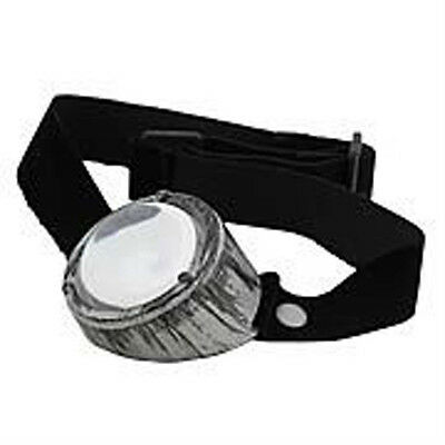 Steampunk Monovision Silver/Clear Goggle Eye Patch - Adult Costume Accessory