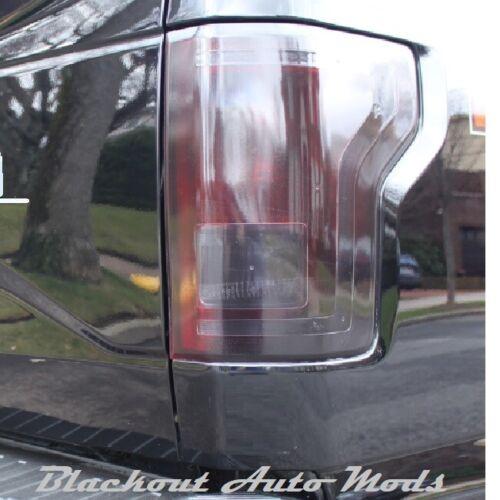 2015-2017 Ford F-150 Complete Blackout Kit Headlight Tail Light Smoked Vinyl